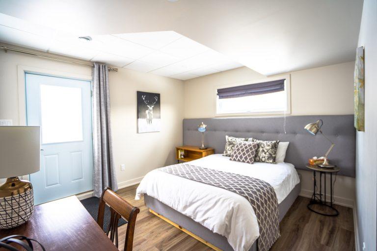 Master bedroom - The Den
