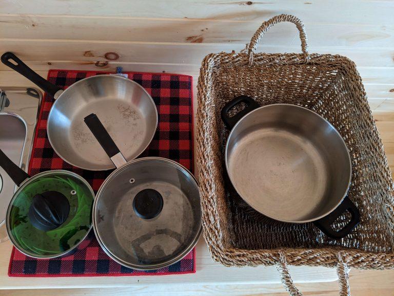 Cauldron and pan