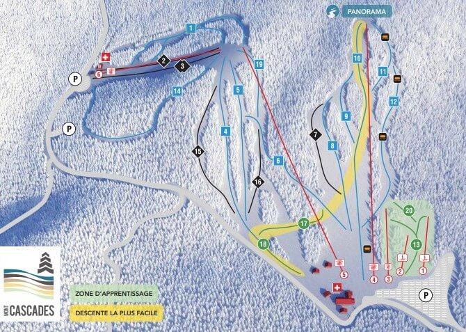 Centre de ski Mont-Cascade