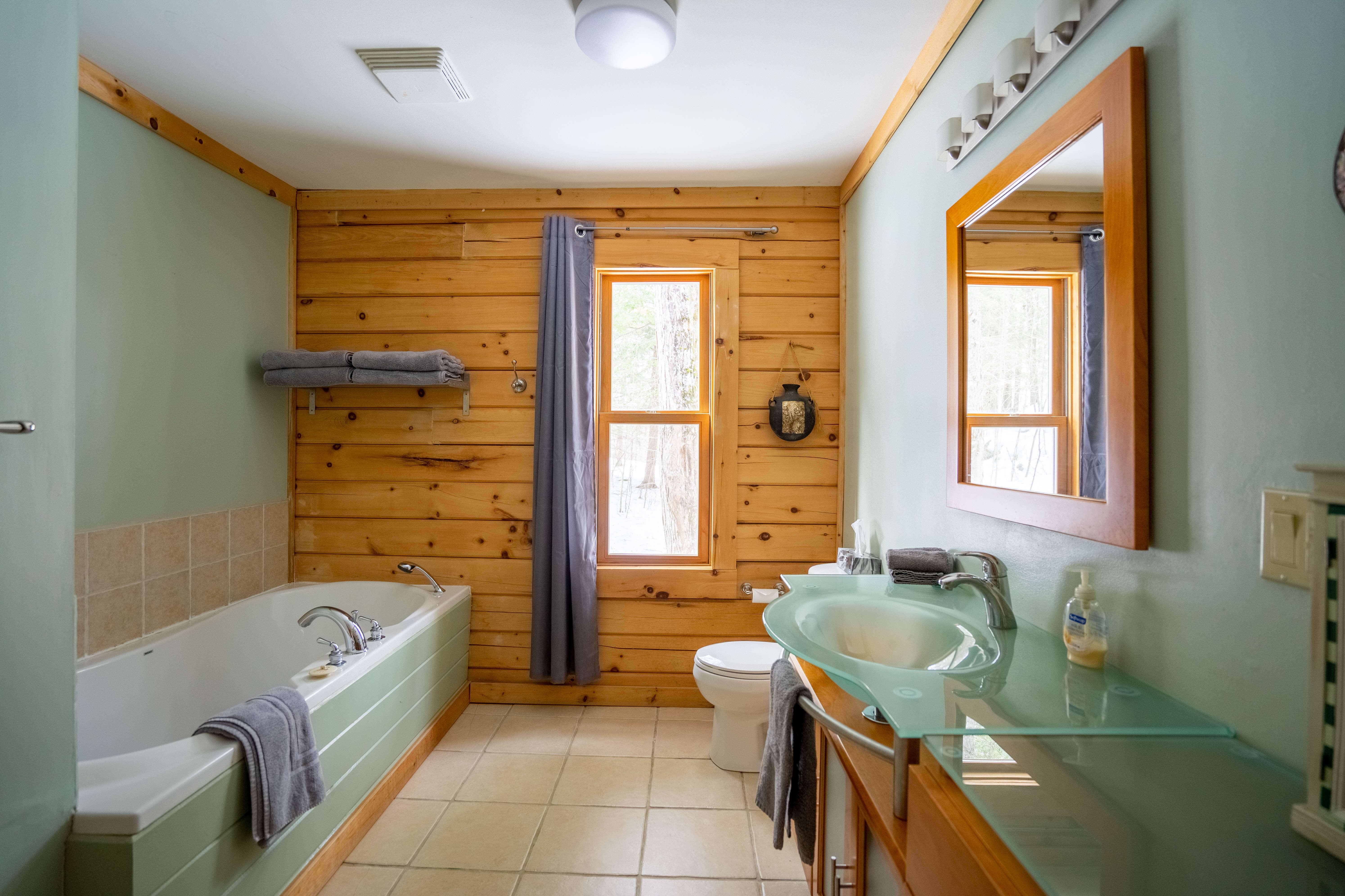 Salle de bain - Chalet Le Boisé
